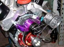 Small Block Ford with VP101 Sportsman Vacuum Pump Installed