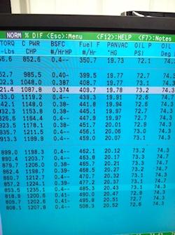 Revolution Inertia Dyno Screen