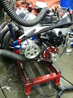 Steve Schmidt Racing Engines 618 BBC Dyno Mule