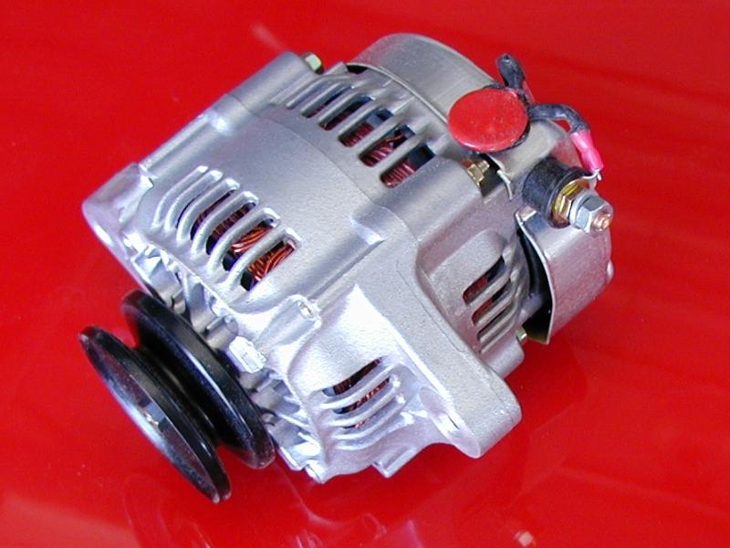 volt amp super mini denso racing alternator a101 55 amp 12 volt mini denso alternator