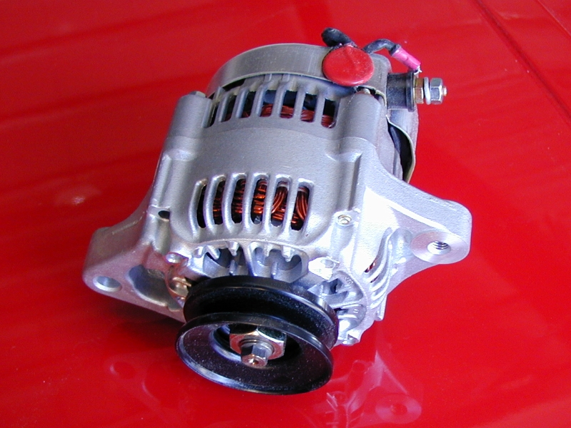 16 Volt  55 Amp  Super Mini Denso Racing Alternator