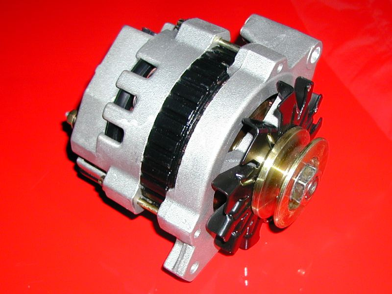 12 volt 105 amp mini gm style racing alternator rh gzmotorsports com