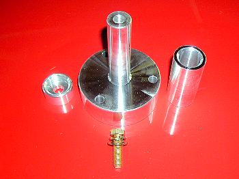 1 in Dia 3 Bolt SBC Crankshaft Mandrel
