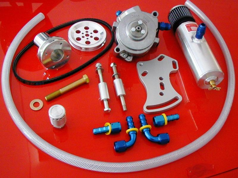 Complete Sportsman Racing Vacuum Pump Kit