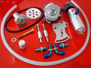 Complete Vacuum Pump Kit - UVPM Mount Shown