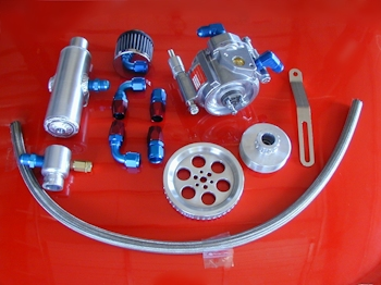 Belt Tensioner Pulley >> Complete LSX Sportsman Racing Vacuum Pump Kit