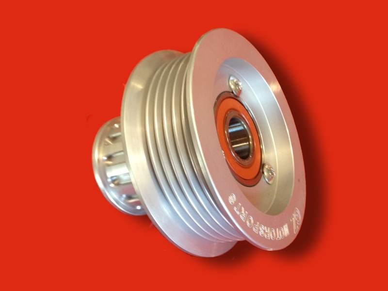 Lsx 6 Rib Serpentine Idler Pulley With Integral Gilmer