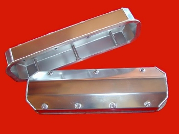 BBC Fabricated Valve Covers