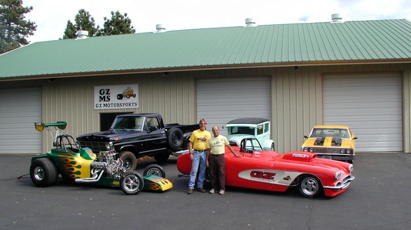 GZ Motorsports Shop in Volcano, California